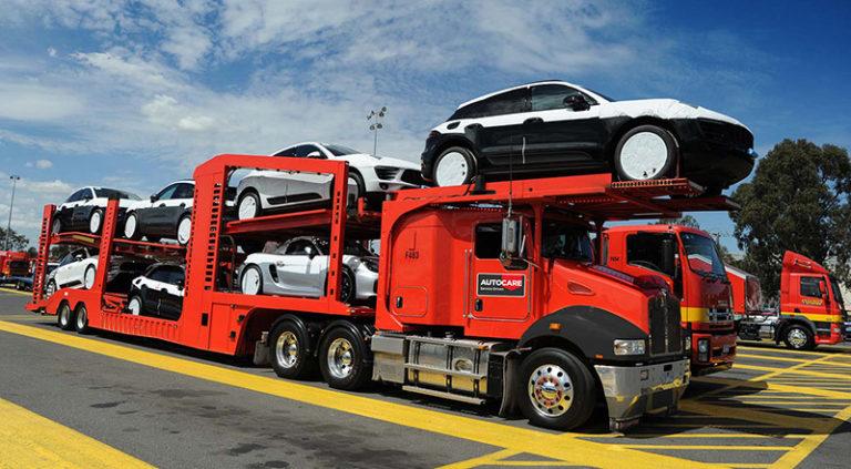 vehicle haulage truck